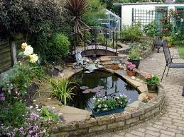 Small Garden Ponds Ideas Garden Beautiful Backyard Small Garden Pond Ideas Gardens Diy