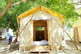 wooden tent wooden tent picture of villa dao hoa vang cam ranh tripadvisor