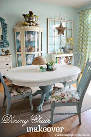 Recover Chair How To Recover A Dining Room Chair Easily Celebrating Everyday