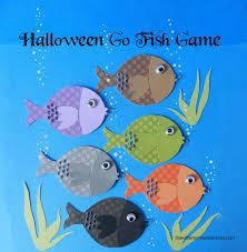 it u0027s written on the wall halloween go fish game fun for classroom