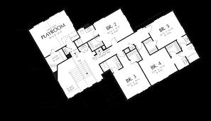 Five Bedroom Floor Plan Mascord House Plan 2440 The Franciscan
