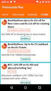 download promo codes u0026 recharge coupons android apps on