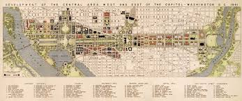 Washington Dc Area Map by Maps Of Unrealized City Plans Reveal What Might Have Been Wired