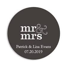 personalized paper coasters the knot shop