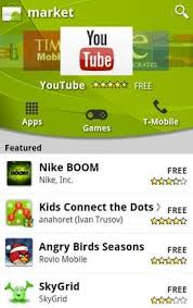 android market app pulls the on android market for android 2 1