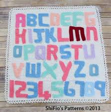 5 easy ways to crochet letters onto blankets