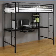 loft bed with built in desk foter