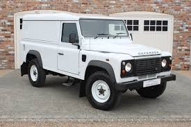 land rover 110 for sale used land rover defender 110 td hard top no vat white 2 2 suv