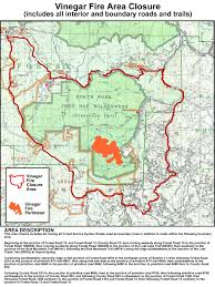 Oregon Forest Fires Map by Umatilla National Forest News U0026 Events