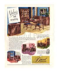 Vintage Bedroom Furniture 1940 1949 Drexel Furniture Vintage Ad 1940 U0027s Furniture