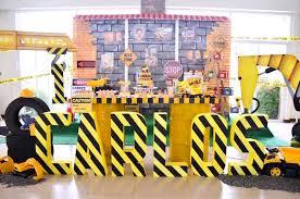 construction birthday party kara s party ideas and tumble construction birthday party