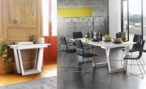 extending console dining table setis white lacquer extendable console dining table style our home