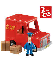 Christmas Cake Decorations Argos by Nana And Grandad Postman Pat Van At Argos Co Uk Your Online Shop