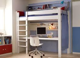 bureau pour mezzanine cuisine lit mezzanine contemporain en bois avec bureau arcamagica