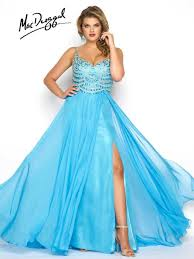 mac duggal fabulouss plus size prom dress collection