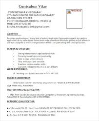 format cv marketing resume format template 7 free word pdf format