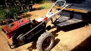 kubota tractor with rotary youtube