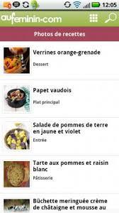 aufeminin cuisine cuisine aufeminin recettes 1 11 télécharger l apk pour android