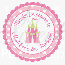 Stickers For Favors by Princess Birthday Sticker Labels Favors Thank Yous
