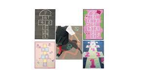 hopscotch rugs for kids popsugar moms