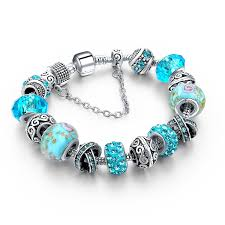 crystal charm bracelet beads images 2018 european crystal charm bracelets for women with diy glass jpg