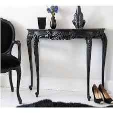 black modern console table black console table to complete and