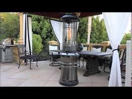 lava heat italia natural gas patio heater ember youtube
