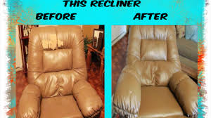 Recliners That Do Not Look Like Recliners Painting This Thrown Out Recliner Chair Youtube