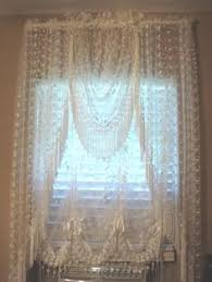Shari Lace Curtains Curtain Style Valance Swag Pair Or Tier Pair Description From