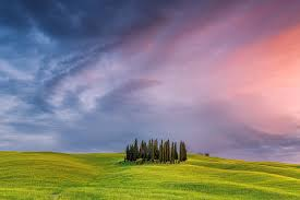 tuscany field in italy nature hd 4k wallpapers