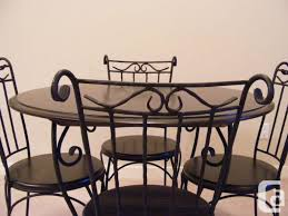 Rod Iron Dining Room Set Furniture Wrought Iron Dining Chairs New Dining Table Iron Dining