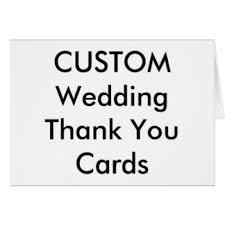 wedding thank you greeting cards zazzle