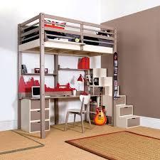 lit mezzanine avec bureau pas cher mezzanine avec bureau beraue et armoire conforama agmc dz d licieux