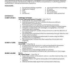 Radiology Tech Resume General Radiology Resume Gis Resume Keywords By Radiologic
