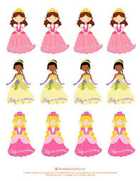 150 free printables parties princess images