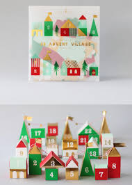 3d advent village calendar christmas villages advent calendars