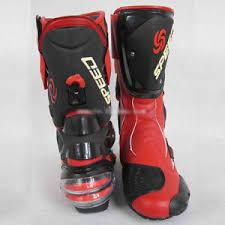 waterproof motocross boots men s motorcycle sports red waterproof motocross boots shoes us size