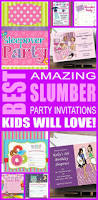 slumber party invitations kids will love