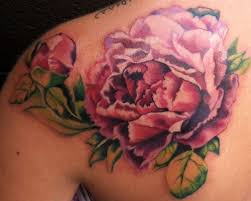 50 wonderful peony tattoo designs for man and woman