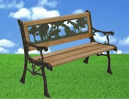 kids wooden garden bench 82cm amazon co uk garden u0026 outdoors