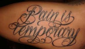 images tattoos meaning pain