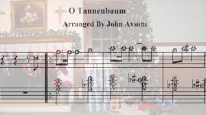 o christmas tree piano solo with alpha letter notes free download