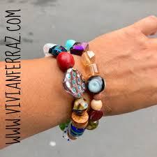 gemstone beaded bracelet images Chunky bracelet beaded bracelet gemstone bracelet handmade jpg