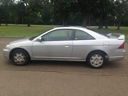 honda civic ex 2001 2001 silver honda civic ex coupe fwd automatic