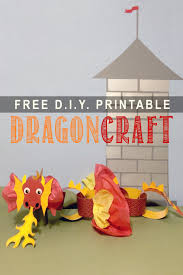 whirligigs party co dragon craft printable for kids