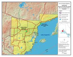 Map Of Ontario Background Drinking Water Source Water Protection Lakehead Region