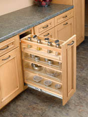spice rack cabinet insert rev a shelf accessories optional spice rack insert sink base