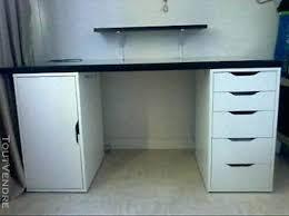 Bureau Ikea Noir Et Blanc - ikea bureau noir caisson de bureau noir ikea caisson blanc caisson