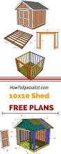 Diy 10x12 Storage Shed Plans by Best 20 Diy Shed Ideas On Pinterest Storage Buildings Building