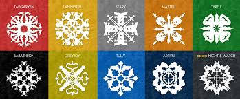 of thrones wrapping paper free snowflake patterns inspired by of thrones higgins
